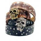Boucle Ceinture Skull Gold Yolete