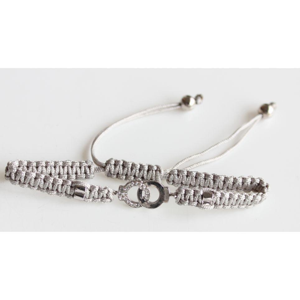 Bracelet Tressé motif Menottes
