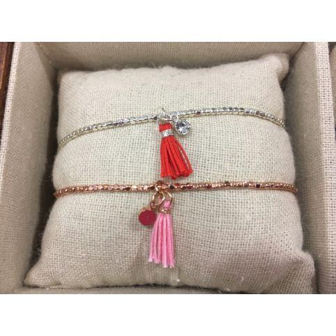 Bracelet Lien Pompon