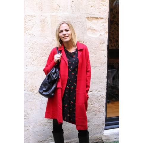 Manteau Rouge