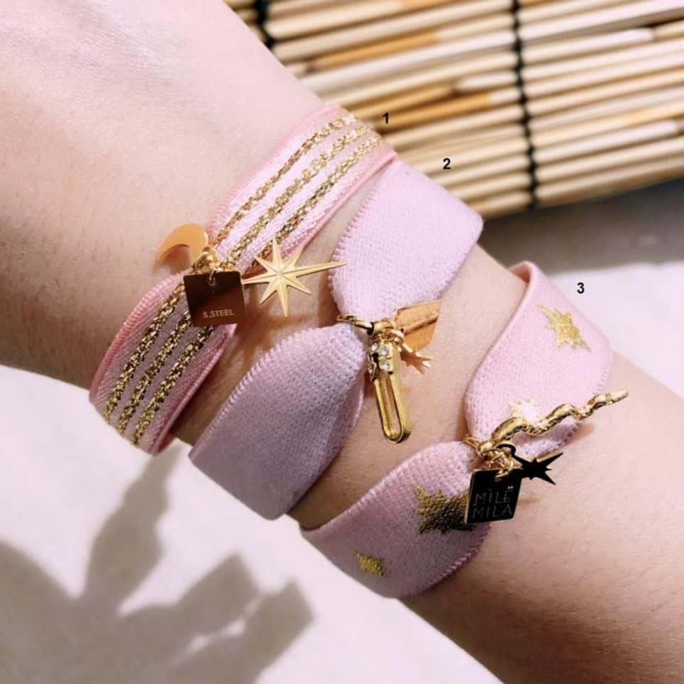 Bracelets Rose Breloques