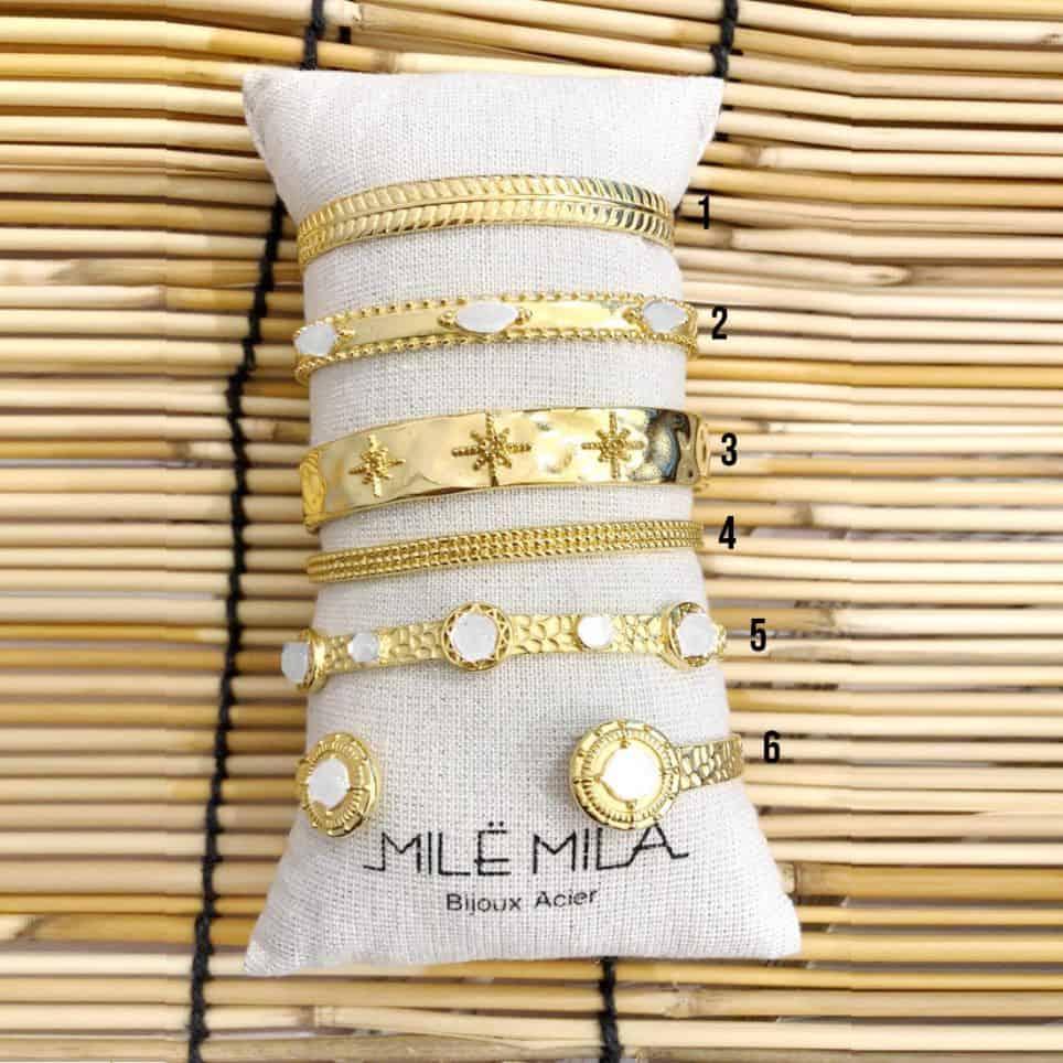 Bracelets Jonc Nacre