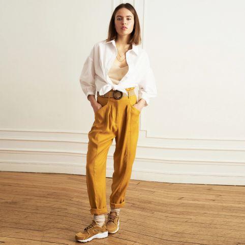 Pantalon Paysage Ocre La Petite Française