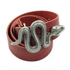Boucle Ceinture Serpent Silver Yolete